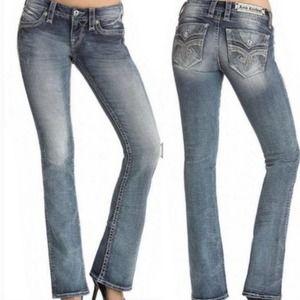 Rock Revival Hendley Size 27 Bootcut Jeans